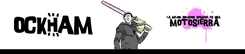 cabecera motosierra ockham webcomic comic