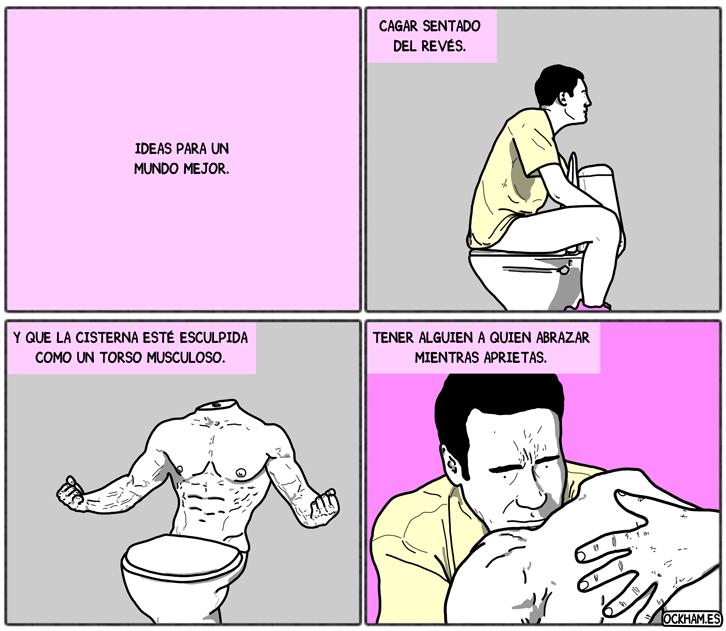 Ideas para un mundo mejor: WC